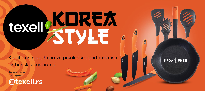 Korea style posuđe