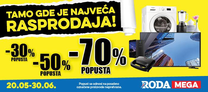 Rasprodaja do -70%