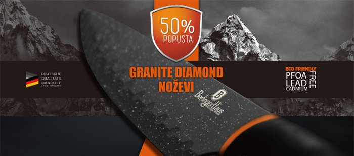 Granite diamond nož