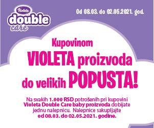 Violeta double care popust
