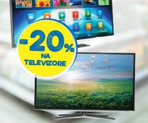 -20% popusta na televizore