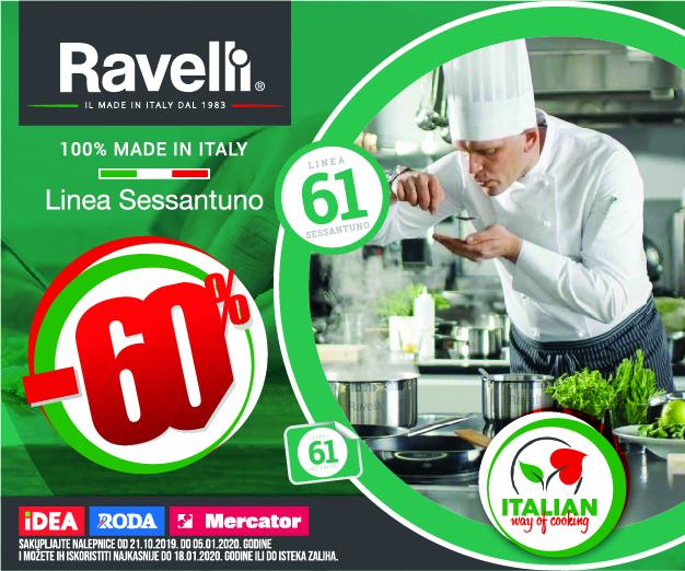 Ravelli posuđe