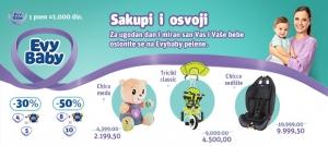 Evy baby pelene donose velike popuste u Roda i IDEA prodavnicama