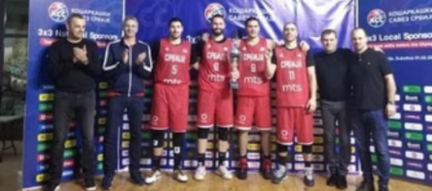 Srbija osvojila 3x3 turnir u Subotici