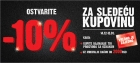 10% popusta za sledeću kupovinu