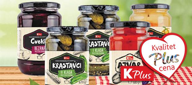 Omiljeni K plus proizvodi u osveženom dizajnu