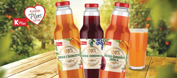 Novi K plus proizvodi - K plus sokovi