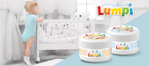 Novi Lupmi proizvodi za lepši dečiji svet – Lumpi bebi krema i Lumpi bebi mast