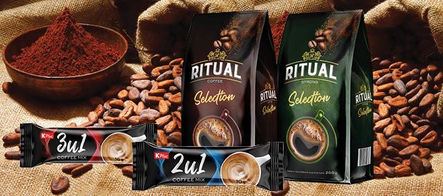 Ritual selection i K plus coffee mix