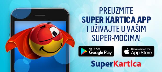 Super Kartica  mobilna aplikacija – Popusti na dodir prsta od Vas!