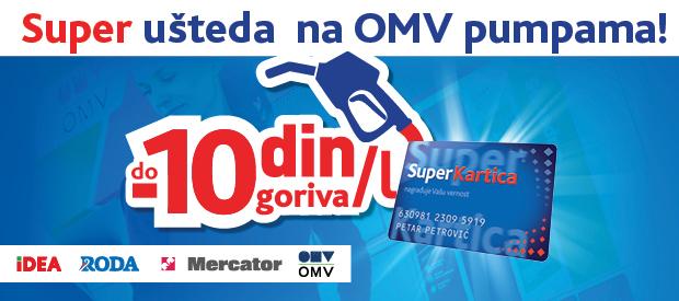 Super ušteda na OMV benzinskim stanicama