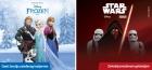 50% popusta na igračku za devojčice uz popunjenu knjižicu Frozen