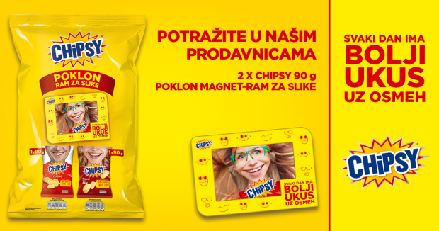 Chipsy i Roda vas nagrađuju
