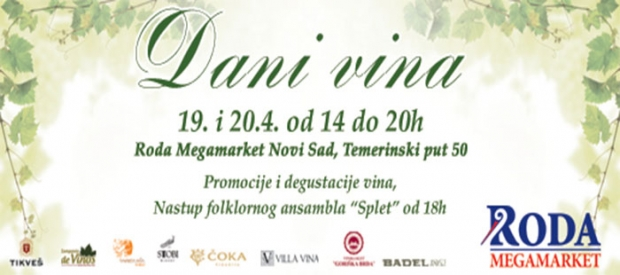 Dani vina u Roda Megamarketu Novi Sad