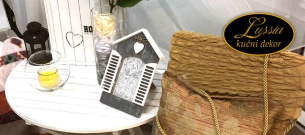 Osvojite 20% popusta na kupovinu u Lussia Home Décor