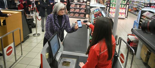 Prvo instant plaćanje na prodajnom mestu IPS QR kodom u Srbiji
