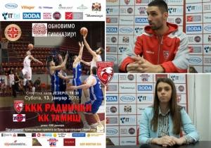 RODA I KKK Radnički pomažu obnovu Kragujevačke gimnazije