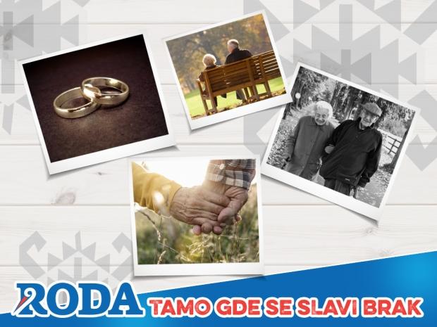 Roda slavi brak koji traje!