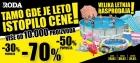 Velika letnja rasprodaja u Rodama širom Srbije