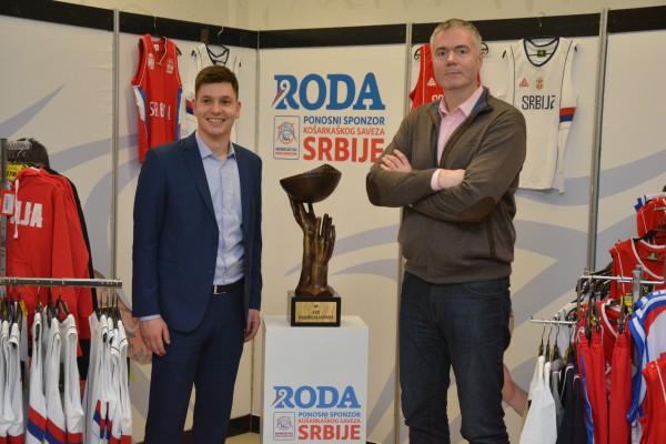 Nastavak uspešnog partnerstva Rode i Košarkaškog saveza Srbije