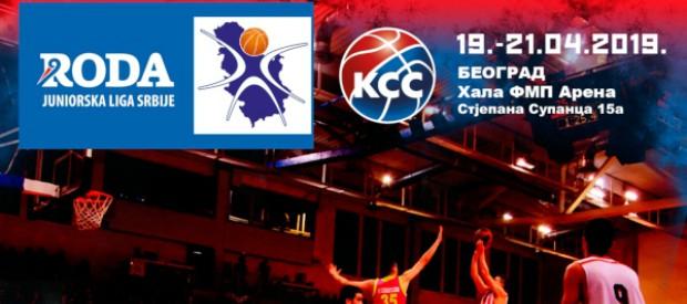 Završetak regularnog dela sezone Roda juniorske lige Srbije