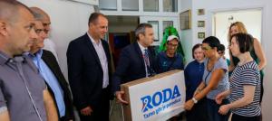 Roda obeležila otvaranje nove prodavnice u Lazarevcu
