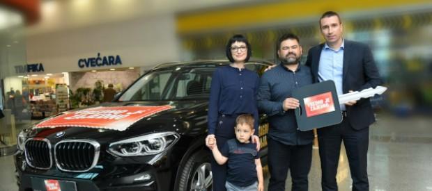 Kada snovi postanu stvarnost: Izvučen dobitnik BMW X3 u nagradnoj igri