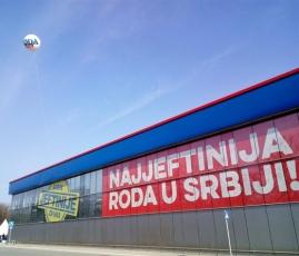 Zmaj je najjeftinija Roda u Srbiji