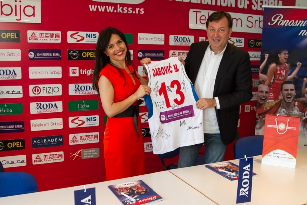 Košarkaški savez Srbije i Roda potpisali ugovor o sponzorstvu