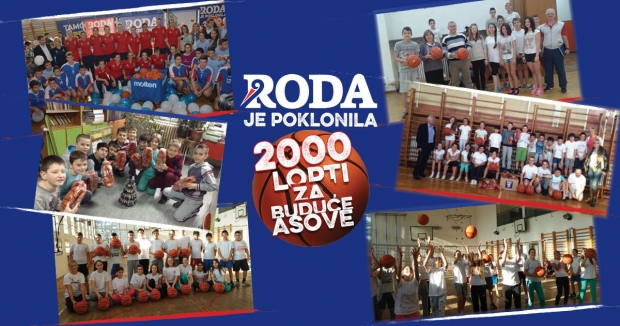 Podeljene lopte osnovnim i srednjim školama u celoj Srbiji