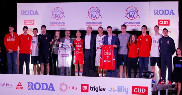 Predstavljen novi dres košarkaške reprezentacije Srbije