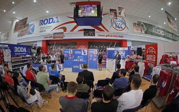 Susret budućih zvezda srpske košarke  na završnom turniru RODA juniorske lige Srbije