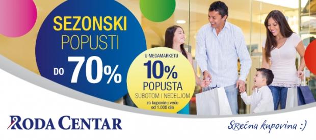 Najniže cene u gradu i veliki sezonski popusti u Kruševcu